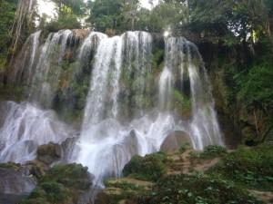 Wasserfall El Nicho in Kuba