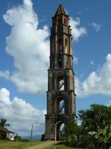 Berühmter Sklaventurm im Zuckertal von Trinidad